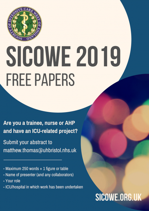 SICOWE abstract submissions